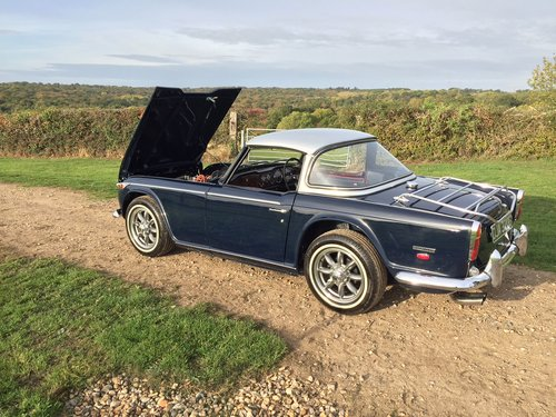 1968 TR5 with surrey top fully restored For Sale (picture 5 of 6)