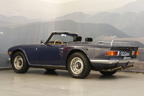 1972 Triumph TR 6 2,5 - New softtop For Sale (picture 2 of 6)