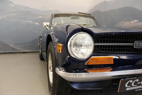 1972 Triumph TR 6 2,5 - New softtop For Sale (picture 3 of 6)