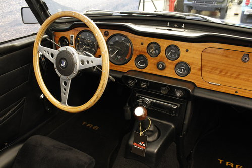 1972 Triumph TR 6 2,5 - New softtop For Sale (picture 5 of 6)