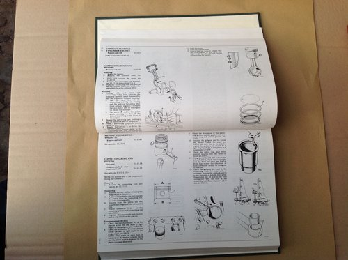 Triumph TR5 & 6 Repair Operation Manual AKM3646 SOLD (picture 2 of 2)