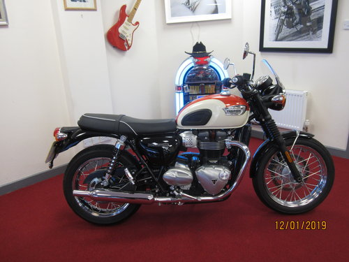 2018 Triumph Bonneville T100 For Sale (picture 1 of 6)