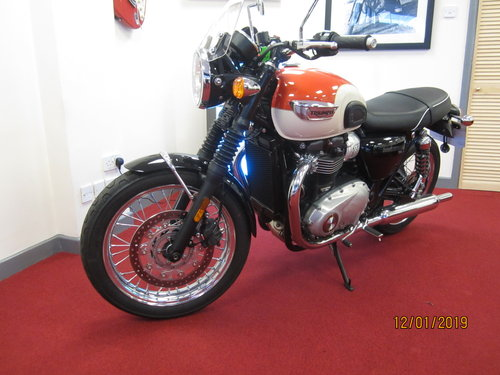 2018 Triumph Bonneville T100 For Sale (picture 6 of 6)