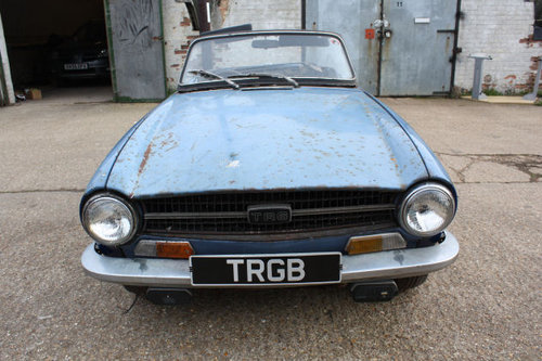 TRIUMPH TR6 1969 ORIGINAL 150 BHP RHD CAR WITH OVERDRIVE FOR SOLD (picture 1 of 6)
