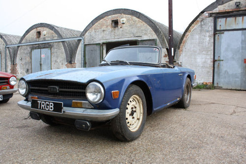 TRIUMPH TR6 1969 ORIGINAL 150 BHP RHD CAR WITH OVERDRIVE FOR SOLD (picture 3 of 6)