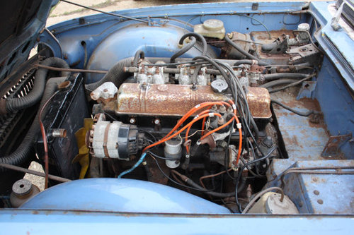 TRIUMPH TR6 1969 ORIGINAL 150 BHP RHD CAR WITH OVERDRIVE FOR SOLD (picture 6 of 6)