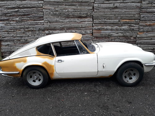 1971 triumph GT6 in solid condition SOLD (picture 1 of 6)