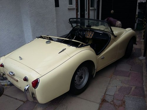 1960 LHD TR3  For Sale (picture 2 of 6)