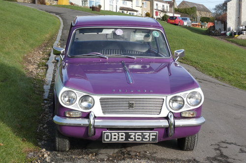 RARE 1967 VITESSE SALOON A1+ CONDITION SOLD (picture 2 of 6)