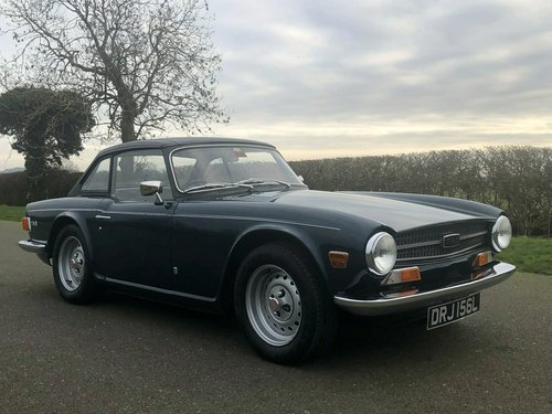 1973 Triumph TR6 PI 150 BHP Manual / Overdrive SOLD (picture 3 of 6)