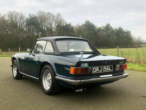 1973 Triumph TR6 PI 150 BHP Manual / Overdrive SOLD (picture 4 of 6)
