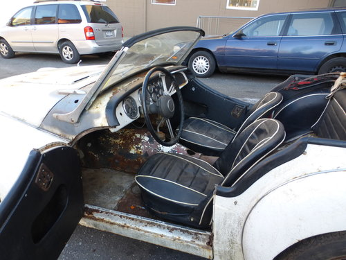 1958 Triumph TR3A Complete Car For Restoration- For Sale (picture 5 of 6)