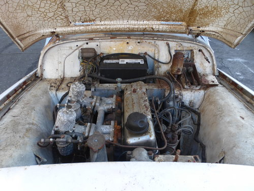 1958 Triumph TR3A Complete Car For Restoration- For Sale (picture 6 of 6)