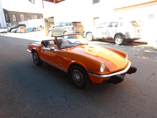 1977 Triumph Spirfire With Overdrive Very Presentable- For Sale (picture 1 of 6)