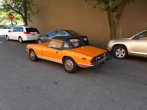 1977 Triumph Spirfire With Overdrive Very Presentable- For Sale (picture 4 of 6)