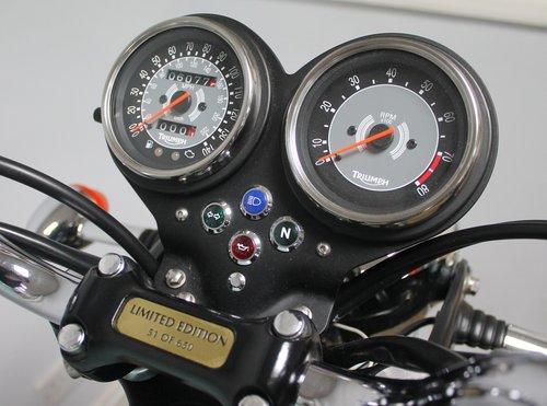2008 Triumph Bonneville T100 865 LTD Edition 50th Anniversar SOLD (picture 3 of 6)