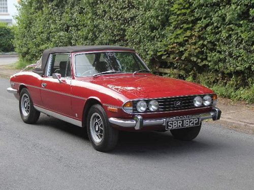 1976 Triumph Stag Manual with Overdrive - Recent Engine Rebuild SOLD (picture 1 of 6)