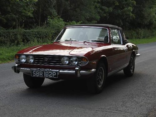1976 Triumph Stag Manual with Overdrive - Recent Engine Rebuild SOLD (picture 2 of 6)