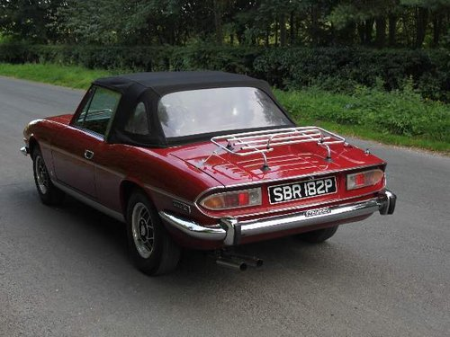 1976 Triumph Stag Manual with Overdrive - Recent Engine Rebuild SOLD (picture 3 of 6)
