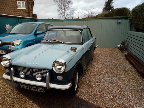 1964 An excellent Triumph Herald with a rebuilt  engine For Sale (picture 1 of 6)