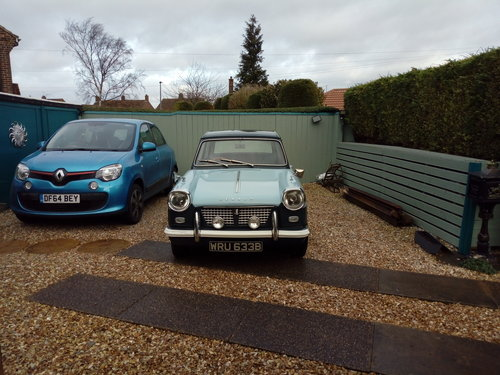 1964 An excellent Triumph Herald with a rebuilt  engine For Sale (picture 2 of 6)