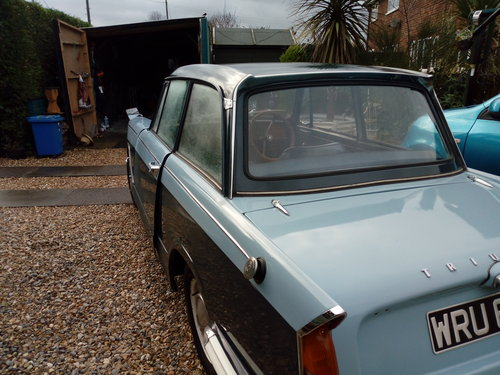 1964 An excellent Triumph Herald with a rebuilt  engine For Sale (picture 5 of 6)