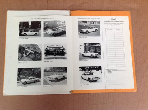 Triumph Stag Press Information 1970  For Sale (picture 2 of 3)