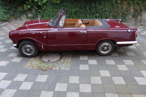1971 LHD Vitesse MK 2 Convertible - 1 of ca.390 For Sale (picture 2 of 5)