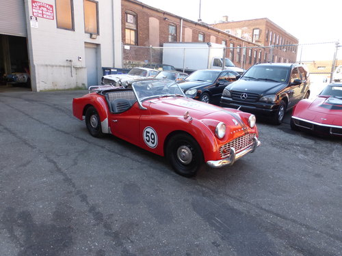 1959 Triumph TR3A Texas Car Nice Driver - For Sale (picture 1 of 6)