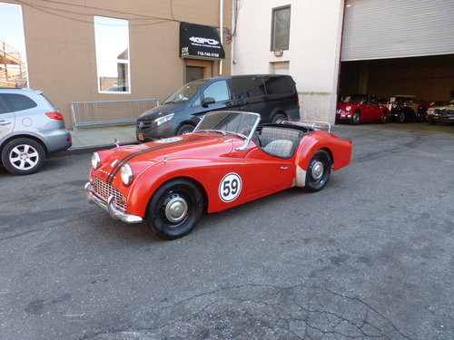 1959 Triumph TR3A Texas Car Nice Driver - For Sale (picture 3 of 6)