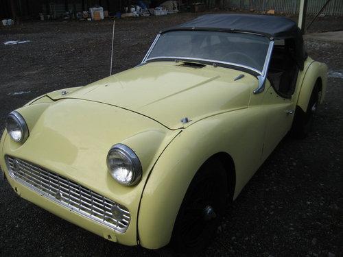1958 Triumph TR3a SOLD (picture 2 of 6)