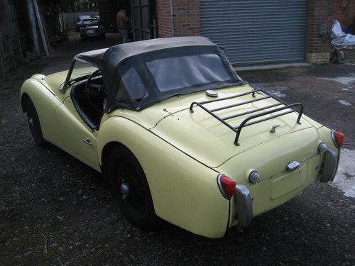 1958 Triumph TR3a SOLD (picture 3 of 6)