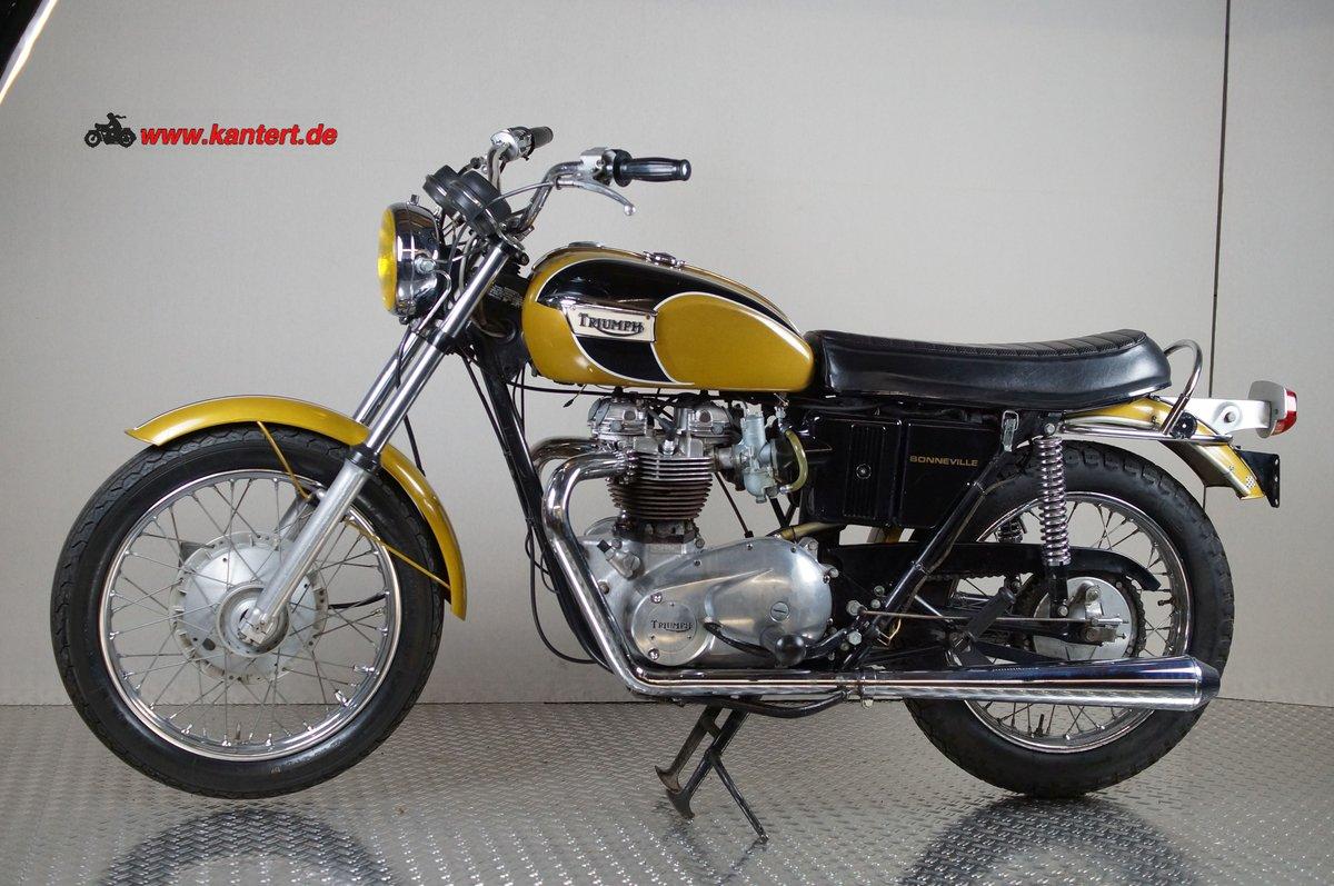 1973 Triumph Bonneville T 20 R, 649 cc, 50 hp For Sale (picture 1 of 6)