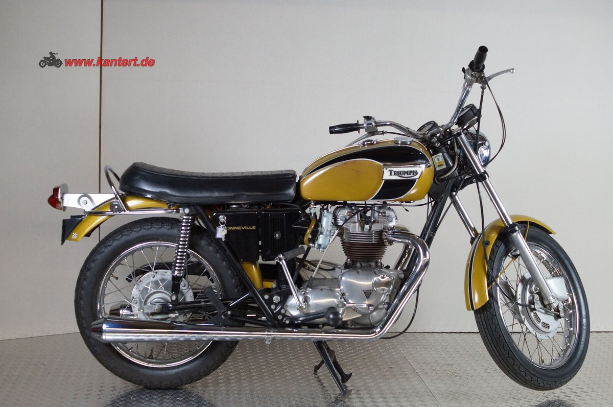 1973 Triumph Bonneville T 20 R, 649 cc, 50 hp For Sale (picture 2 of 6)
