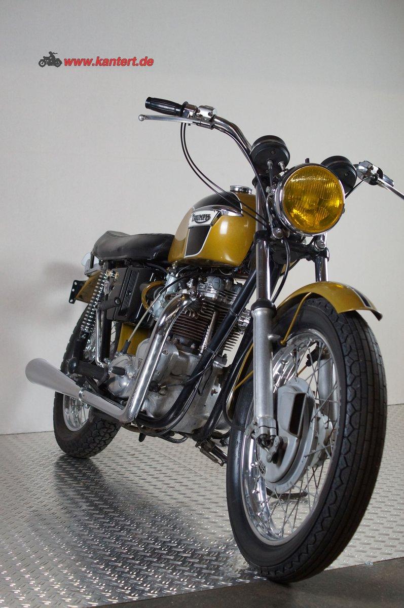 1973 Triumph Bonneville T 20 R, 649 cc, 50 hp For Sale (picture 4 of 6)