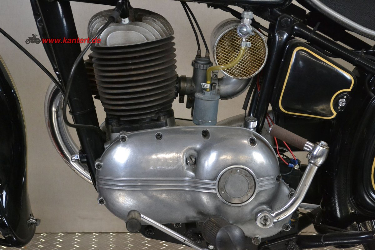 1953 Triumph Nurmberg BDG 250, 248 cc, 11 hp, 21000 km For Sale (picture 5 of 6)