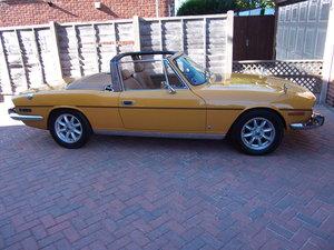 1972 Triumph Stag,Saffron Yellow, £14000.00 OVNO For Sale