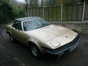 1982 Triumph tr7 convertible very low mileage For Sale