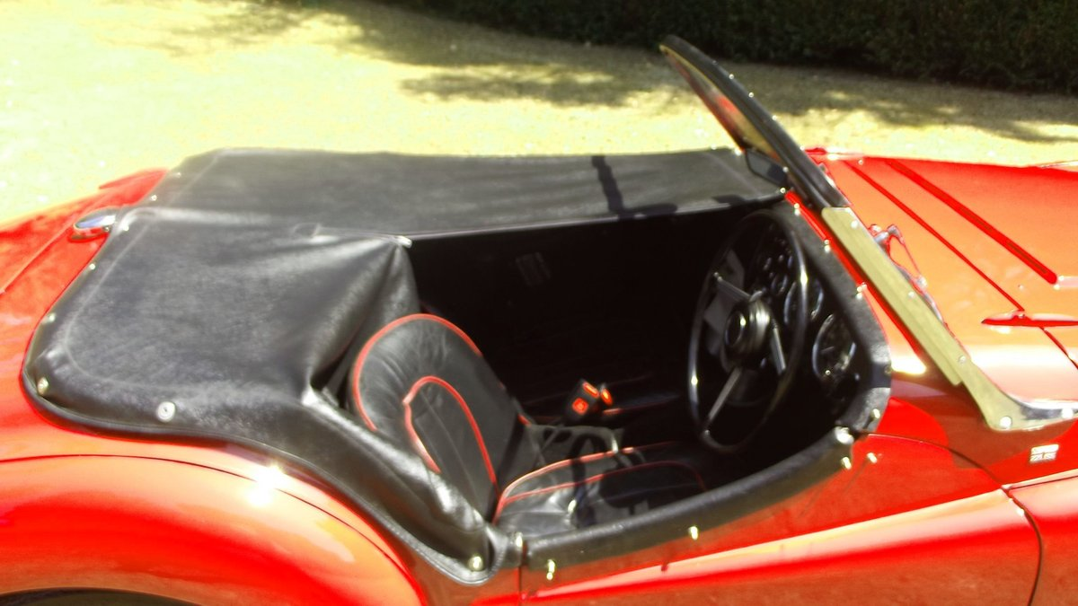 1954 TRIUMPH TR2 SPORTS ROADSTER CONV Small Mouth, Long Door SOLD (picture 4 of 6)