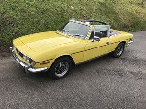 Triumph Stag Manual + Overdrive 1973 3.0 V8 For Sale