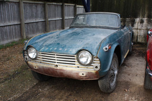 1967 PROJECT TRIUMPH TR4A SOLD