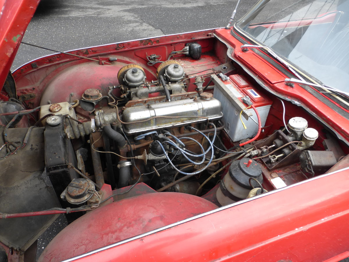 1965 Triumph TR4 Complete Car For Restoration - For Sale (picture 6 of 6)