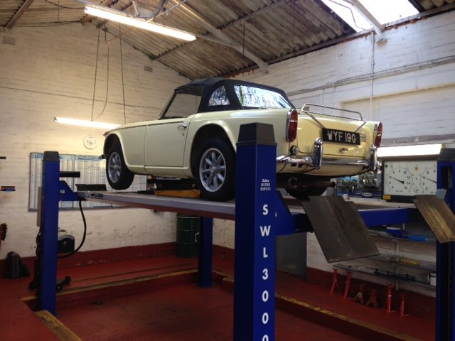 1969 TRIUMPH TR5, injetion, overdrive 234.body off restored SOLD SOLD (picture 6 of 6)