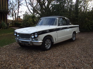 1971 VITESSE CONVERTIBLE MK2 86K HISTORY LOVELY CAR SOLD