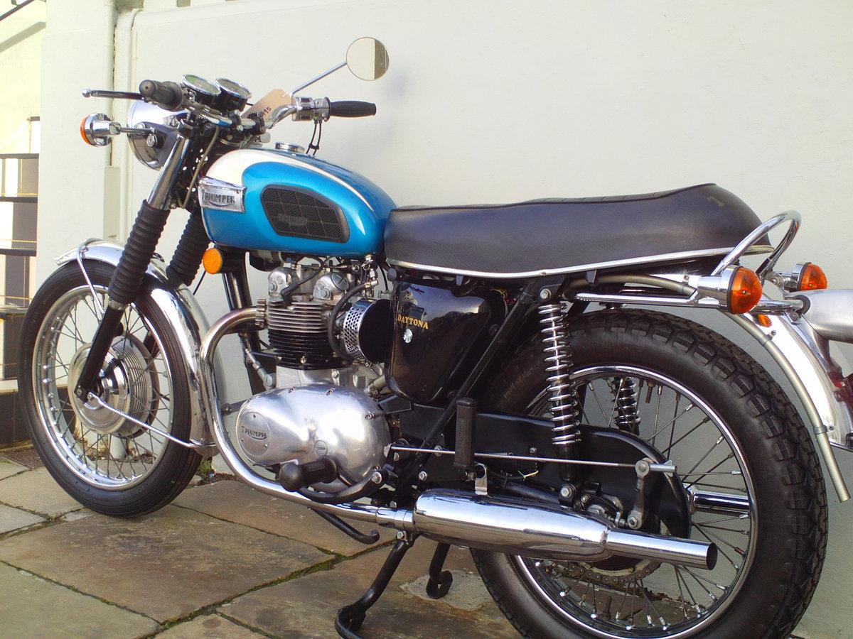 1977 TRIUMPH DAYTONA T100R SOLD (picture 4 of 6)