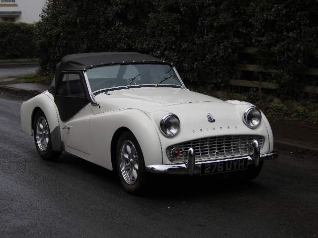 1962 Triumph TR3A, £9K recently spent SOLD (picture 1 of 6)