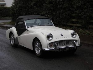 1962 Triumph TR3A, £9K recently spent SOLD