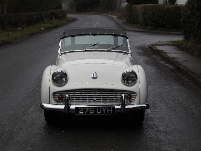 1962 Triumph TR3A, £9K recently spent SOLD (picture 2 of 6)