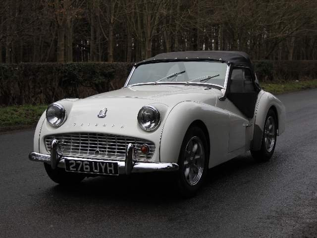 1962 Triumph TR3A, £9K recently spent SOLD (picture 3 of 6)