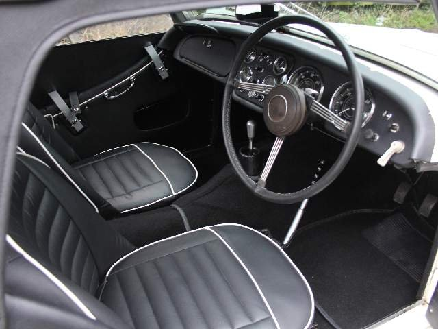 1962 Triumph TR3A, £9K recently spent SOLD (picture 5 of 6)